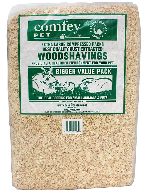 Comfey Pet Compressed Wood Shavings