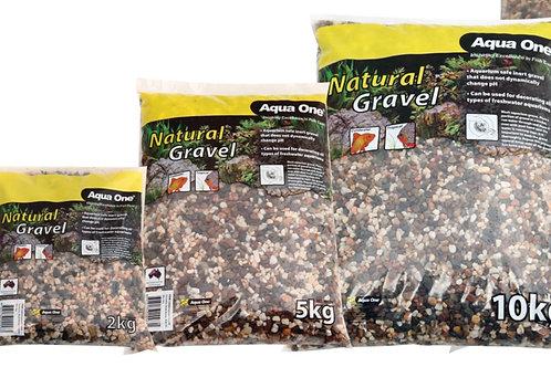 Aqua One Natural Gravel Australian Multi Brown