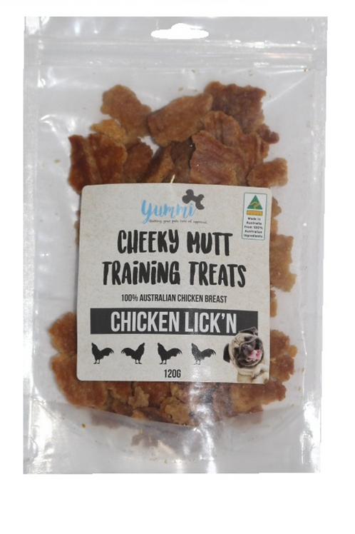 Cheeky Mutt Chicken Lick'n 120g