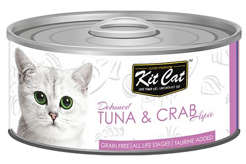 Kit Cat Grain Free Deboned Tuna & Crab