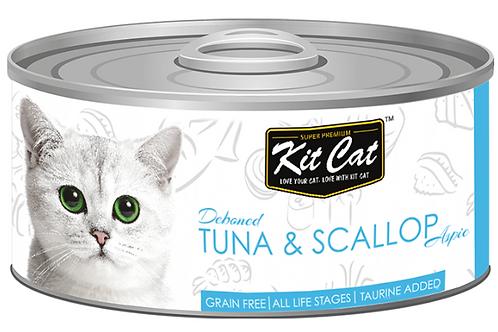 Kit Cat Grain Free Deboned Tuna & Scallop
