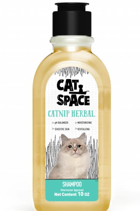 Amazonia Cat Space Catnip Herbal Shampoo