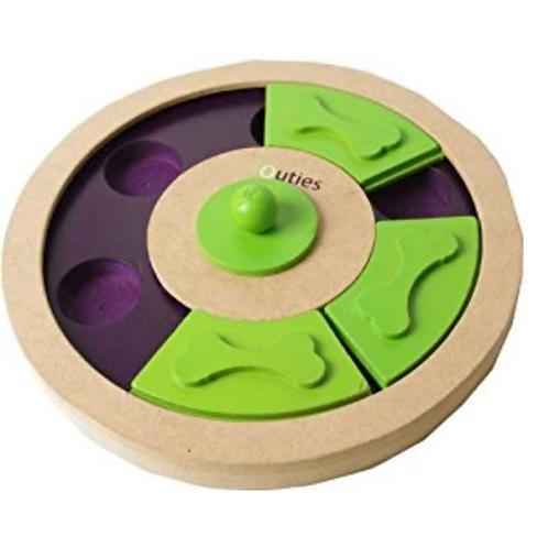 iQuties Treat Wheel Dog Toy