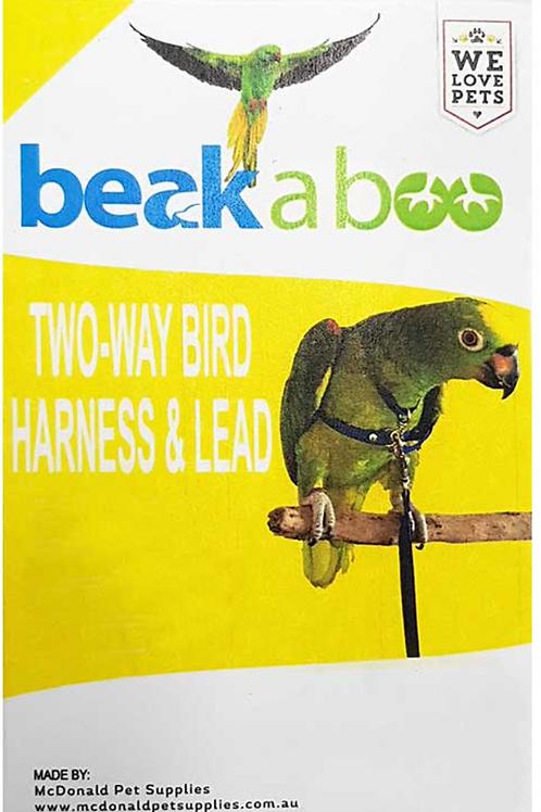 Beak a Boo Bird Harness & Lead