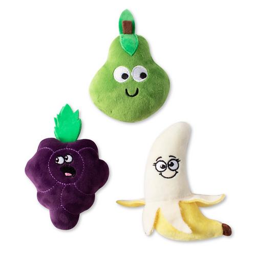 Fringe Toy Box 3 Pack Fruit Mini Toy Set