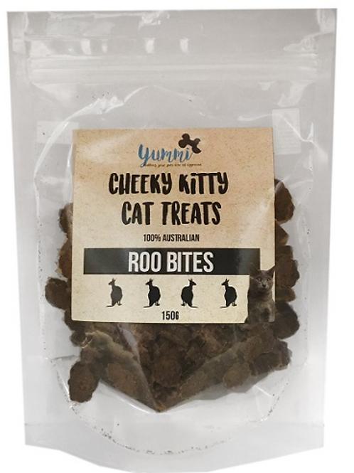 Cheeky Kitty Roo Bites 150g