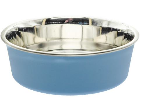Bella Bowls Vet-recommended Pet Bowl - *Plain* Murano Blue