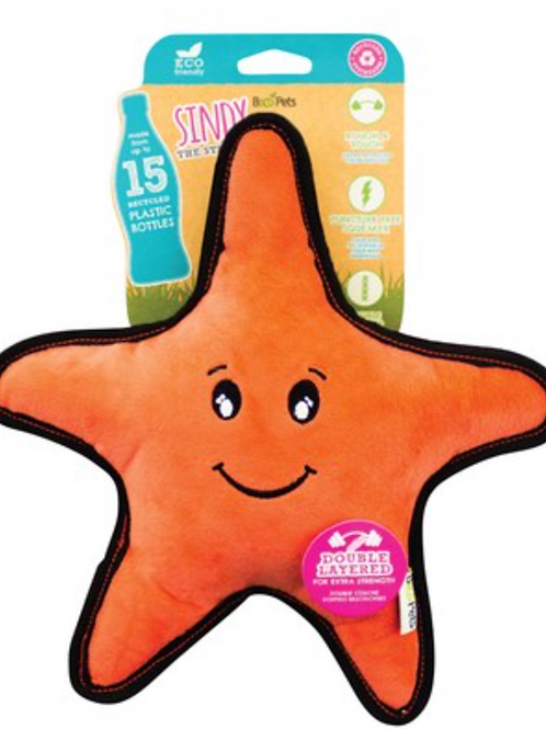 Beco Pets Sindy the Recycled Rough & Tough Starfish