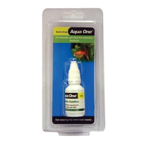 Aqua One Quick Drop PH Indicator Solution