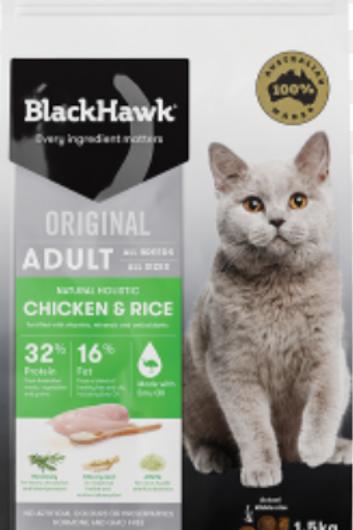 BlackHawk Original Adult Chicken & Rice 1.5kg