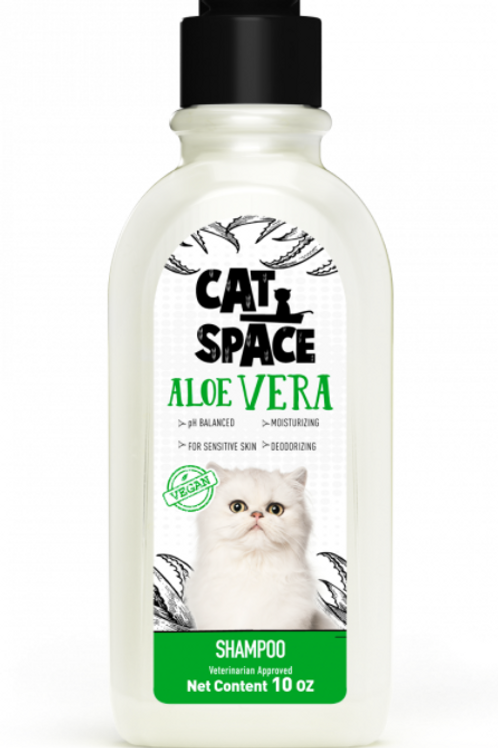 Amazonia Cat Space Aloe Vera Shampoo