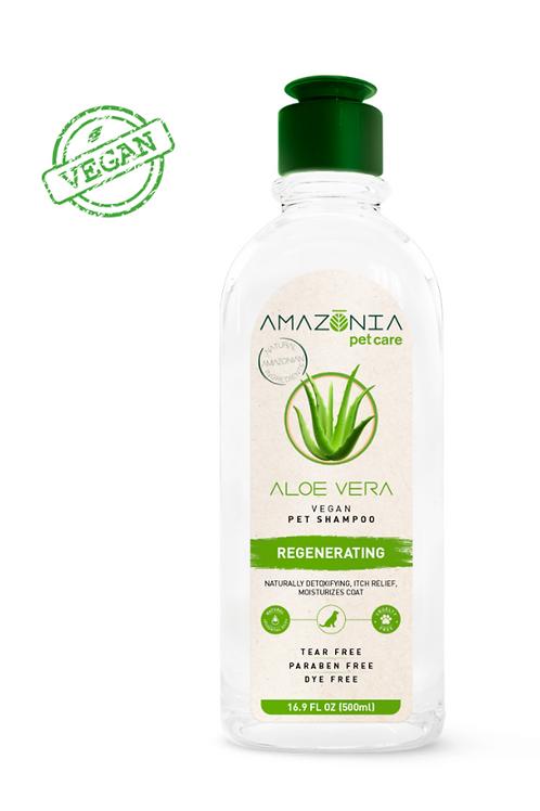 Amazonia Aloe Vera Vegan Pet Shampoo Regenerating