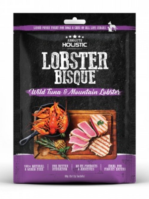 Absolute Holistic Lobster Bisque (Wild Tuna & Mountain Lobster)