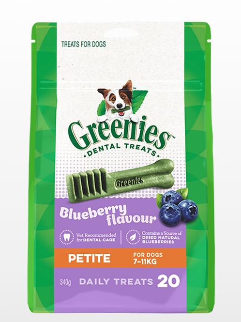 Greenies Blueberry Petite