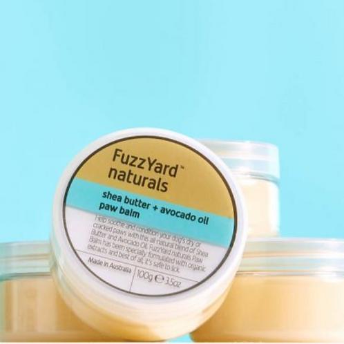 FuzzYard Naturals Shea Butter + Avocado Oil Paw Balm