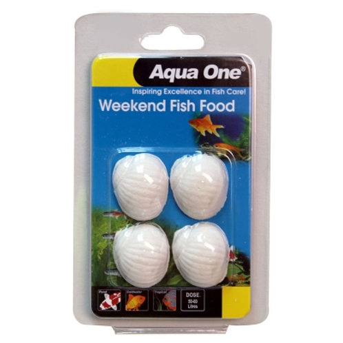 Aqua One Weekend Fish Food