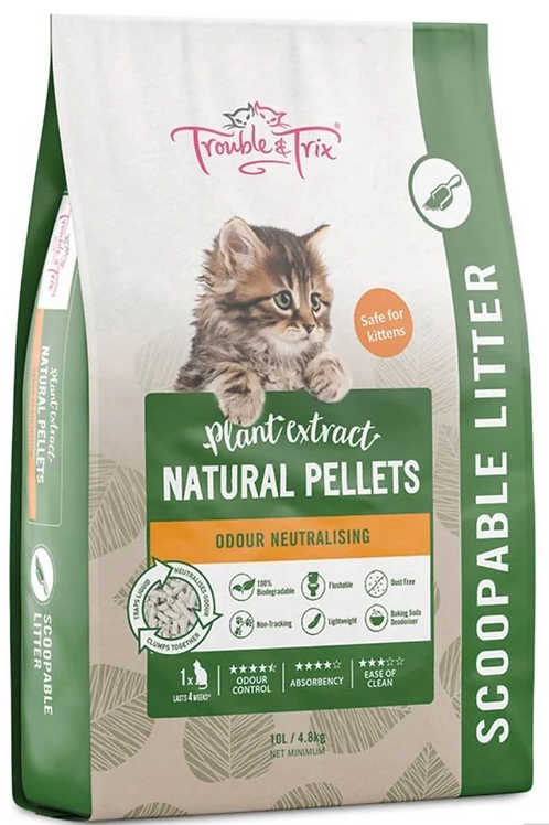 Click to expand  Trouble & Trix Clumping Cat Litter Natural