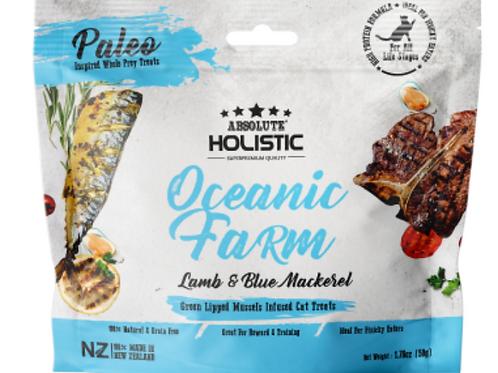 Absolute Holistic Air Dried Oceanic Farm Lamb & Blue Mackerel