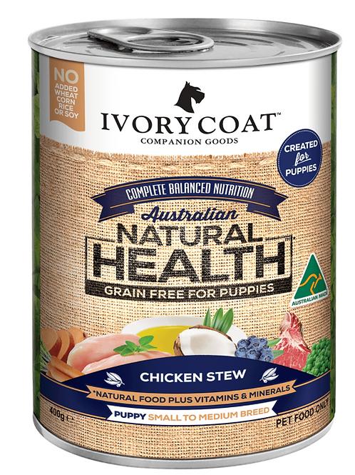 Ivory Coat Natural Health Puppy Chicken Stew