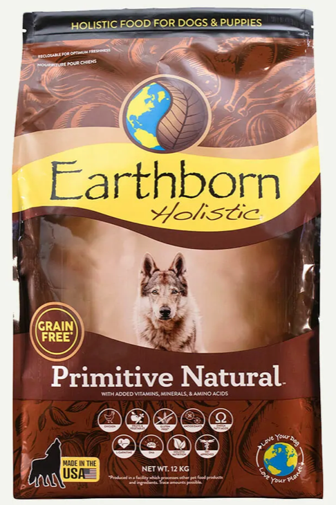 Earthborn Holistic Grain Free Primitive Natural
