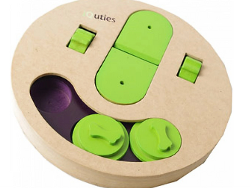 iQuties Slot 'n' Lever Dog Toy