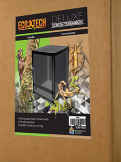 EcoTech Deluxe Screen Terrarium