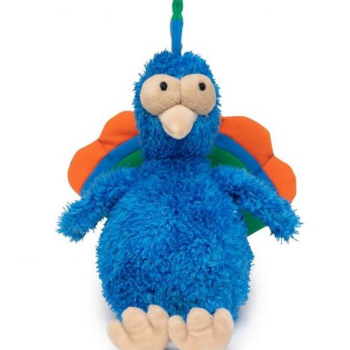 Fuzzyard Plush Dog Toy Showboat the Peacock