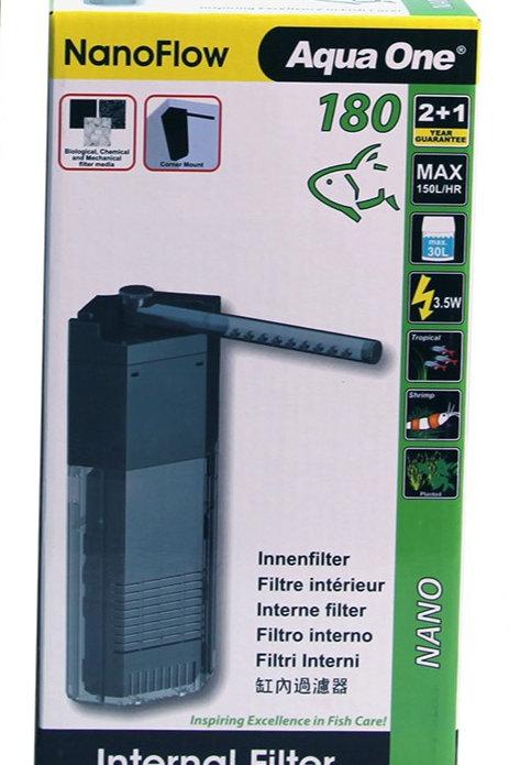 Aqua One Nano Flow Internal Filter 180