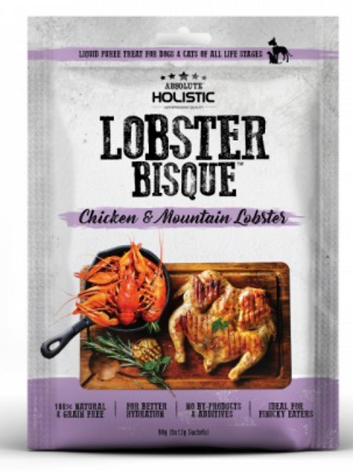 Absolute Holistic LOBSTER BISQUE (Chicken & Mountain Lobster)