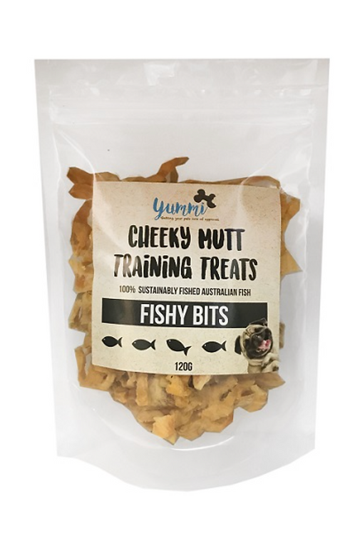 Cheeky Mutt Fishy Bits 120g