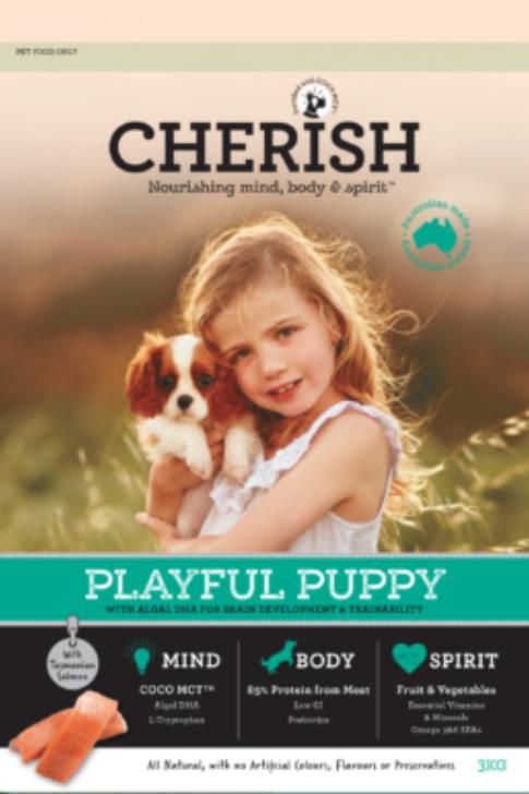 Cherish Playful Puppy 3kg