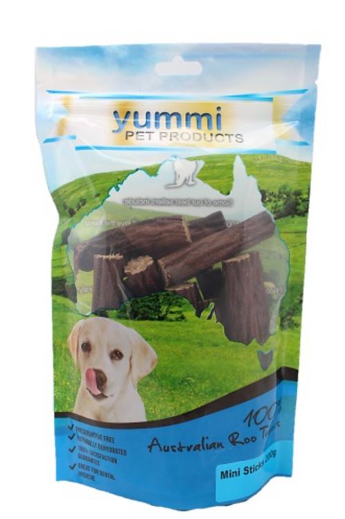 Yummi Kangaroo Mini Sticks 200g