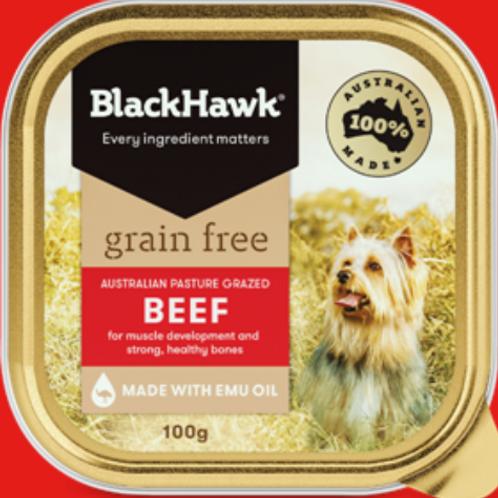 BlackHawk Grain Free Adult Beef Sachet