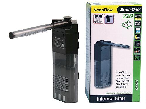 Aqua One Nano Flow Internal Filter 220