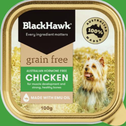 BlackHawk Grain Free Adult Chicken Sachet