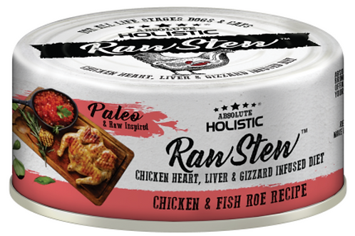 Absolute Holistic Raw Stew Chicken & Fish Roe Recipe