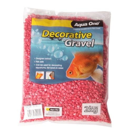 Aqua One Gravel Metallic Red