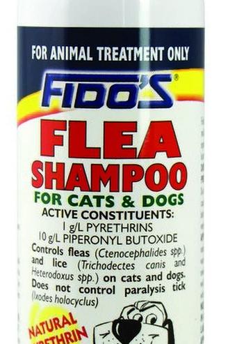 Fidos Flea Shampoo For Cats & Dogs