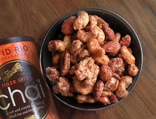 Chai-Spiced Nuts