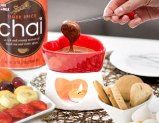 Chocolate Chai Fondue