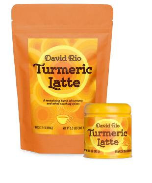 David Rio Turmeric Latte
