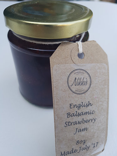 Balsamic Strawberry Conserve