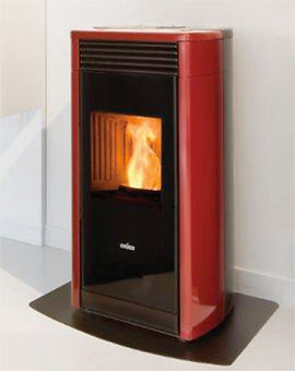 Menzies Elena Wood Pellet Fire