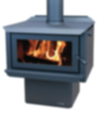 MASPORT HEARTLAND FREESTANDING WOOD BURNER