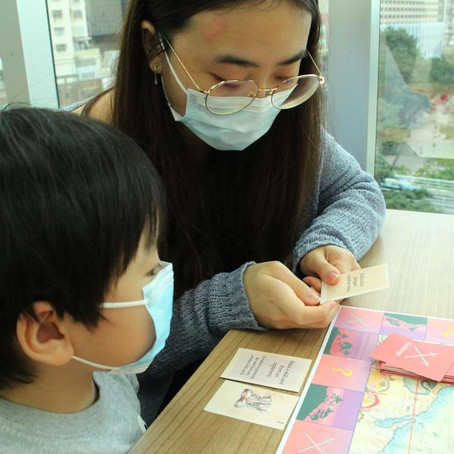HKET Interview: Board Game Workshops which allowed children to have fun during the COVID period!