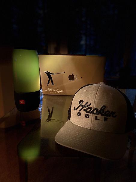 Hacker Golf Apple Hat