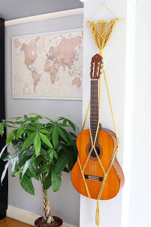Criss-Cross Guitar Hanger