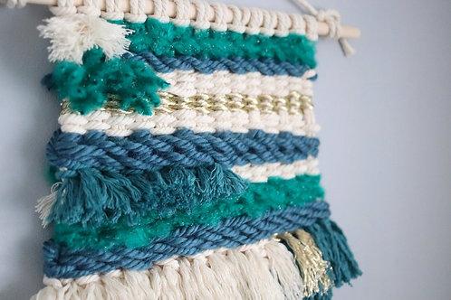 Marine - Macra-Weave Textured Hanging