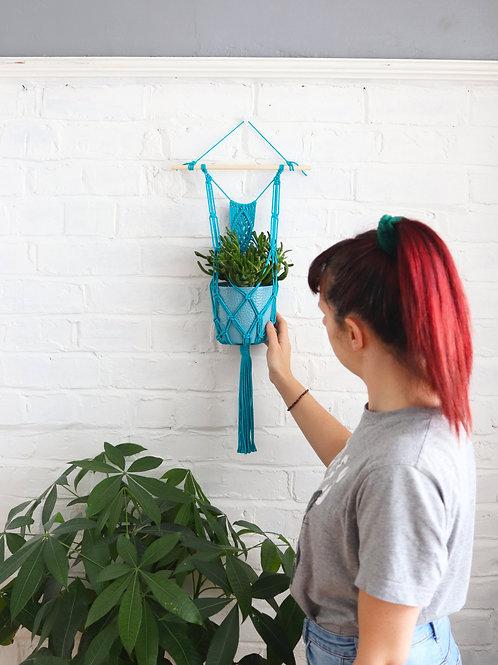 Tropical Blue Plant Hanger