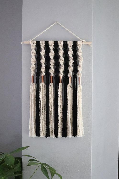 Adonis - Macrame Copper Bead Wall Hanging